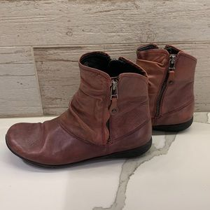 Rieker Leather Boots size 7